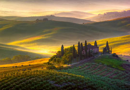Poster - Italien Vlies-Foto-Tapete Toscana