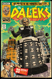 Poster - Doctor Who Daleks Comic