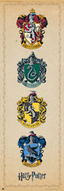 Poster - Harry Potter Crests