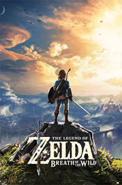 Poster - Legend of Zelda, The Breath of the Wild - Sunset