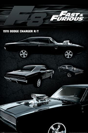 Poster - Fast & Furious Dodge Charger