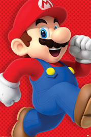 Poster - Nintendo Super Mario - Run