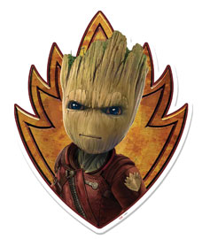 Guardians Of The Galaxy Groot - Emblem