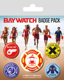 Poster - Baywatch Lifeguard Patch