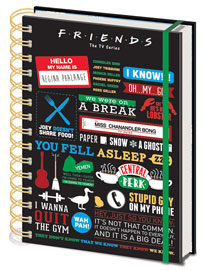 Poster - Friends  Infographic