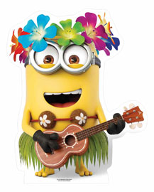 Poster - Despicable Me 3 - Hawaiian Guitar