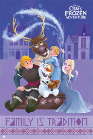 Poster - Frozen Family is tradition - Group