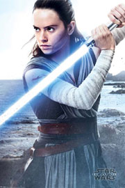 Star Wars - The Last Jedi  Rey Engage