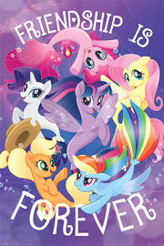 Poster - My Little Pony Movie - Friendship is Forever