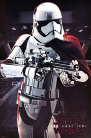 Poster - Star Wars - The Last Jedi EP8 - Captain Phasma