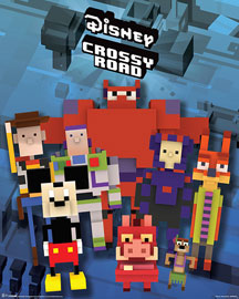 Poster - Crossy Road