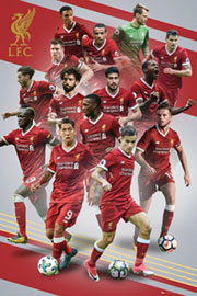 Poster - Fußball FC Liverpool - Players 17/18