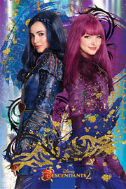 Poster - Descendants Evie & Mal