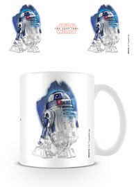 Star Wars - The Last Jedi R2-D2 Brushstroke