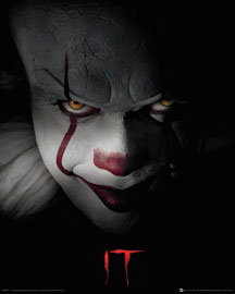 Poster - Stephen King's - ES Movie, The - Pennywise Cover