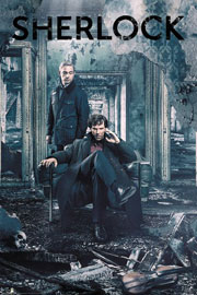 Poster - Sherlock Destruction - Sit