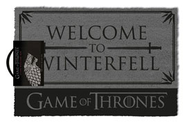 Poster - Fußmatte Kokos Game Of Thrones - Welcome to Winterfell