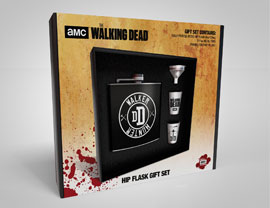 Flachmann-Set Walking Dead, The - Walker Hunter Black