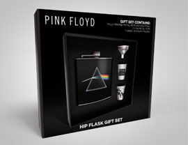 Flachmann-Set Pink Floyd - Dark Side Of The Moon