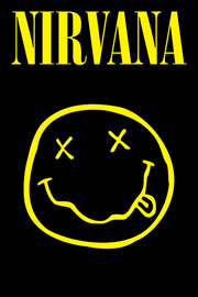 Poster - Nirvana Smiley