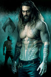Poster - Justice League Aquaman - Portrait