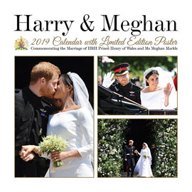 Poster - Prince Harry & Meghan Markle