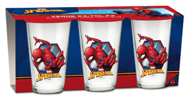 Poster - Glas-Set Spider-Man