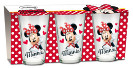 Poster - Glas-Set Minnie Mouse - Heart