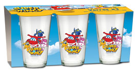 Poster - Glas-Set Super Wings