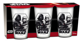 Poster - Glas-Set Star Wars