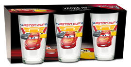 Poster - Glas-Set Cars - Piston Cup