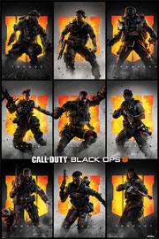 Call Of Duty Black Ops 4 - Characters
