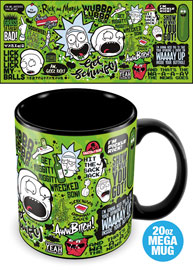 Poster - Mega Tasse Rick and Morty - Quotes