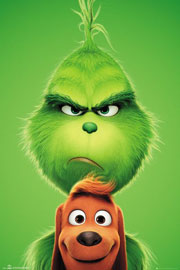Poster - Grinch, The Grinch and Max
