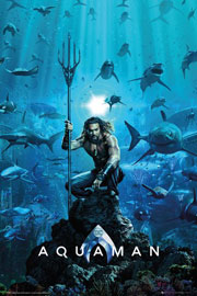 Poster - Justice League Aquaman - One Sheet