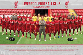 Fußball FC Liverpool - Team Photo 18/19