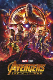 Avengers - Infinity War One Sheet - Heroes