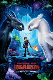 Poster - Dragons 3 - How To Train Your Dragon - One Sheet