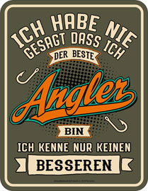 Poster - Angeln
