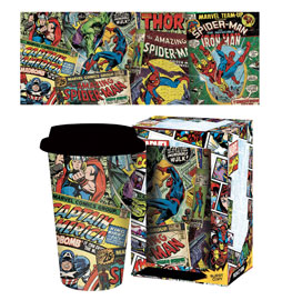 Marvel Comics - Heroes - Travel Mug