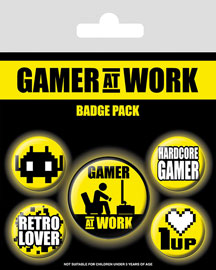 Poster - Gamer at Work Collectables