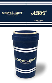 Poster - Stranger Things Scoops Ahoy - Eco Mug