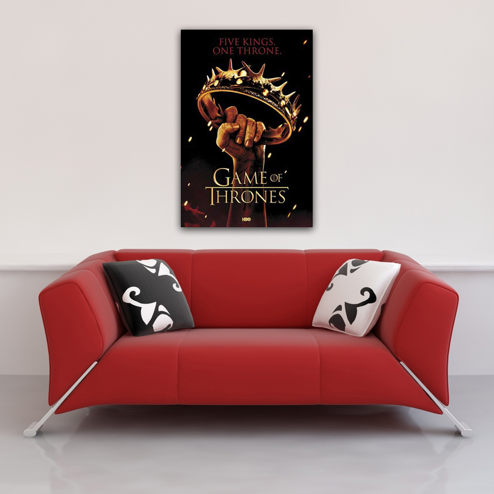 Game of Thrones - Poster - Crown Vorschau Sofa