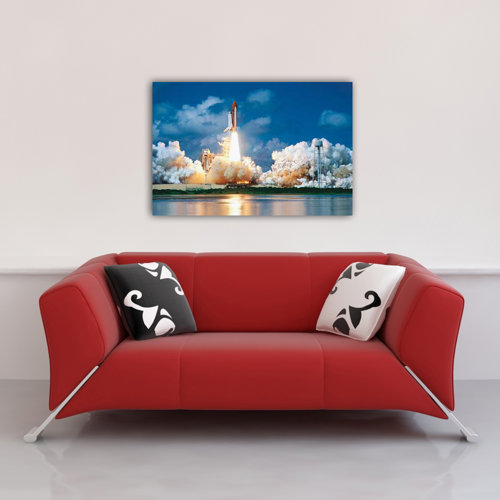 Educational - Bildung - Poster - Space Shuttle Launch Raumschiff Vorschau Sofa
