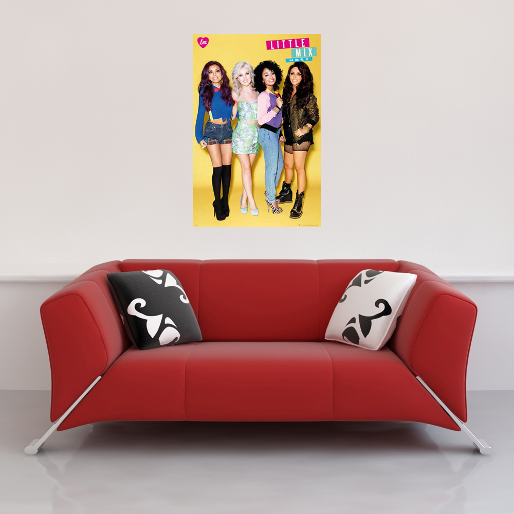 Little Mix - Poster - Group Vorschau Sofa