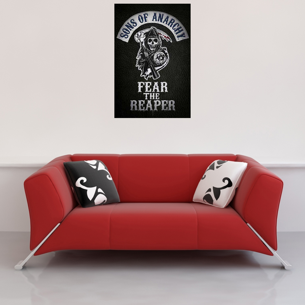 Sons of Anarchy - Poster - Fear the reaper Vorschau Sofa