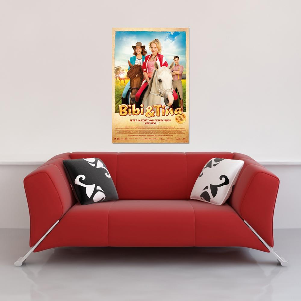 bibi tina der film poster 61x91 5. Black Bedroom Furniture Sets. Home Design Ideas