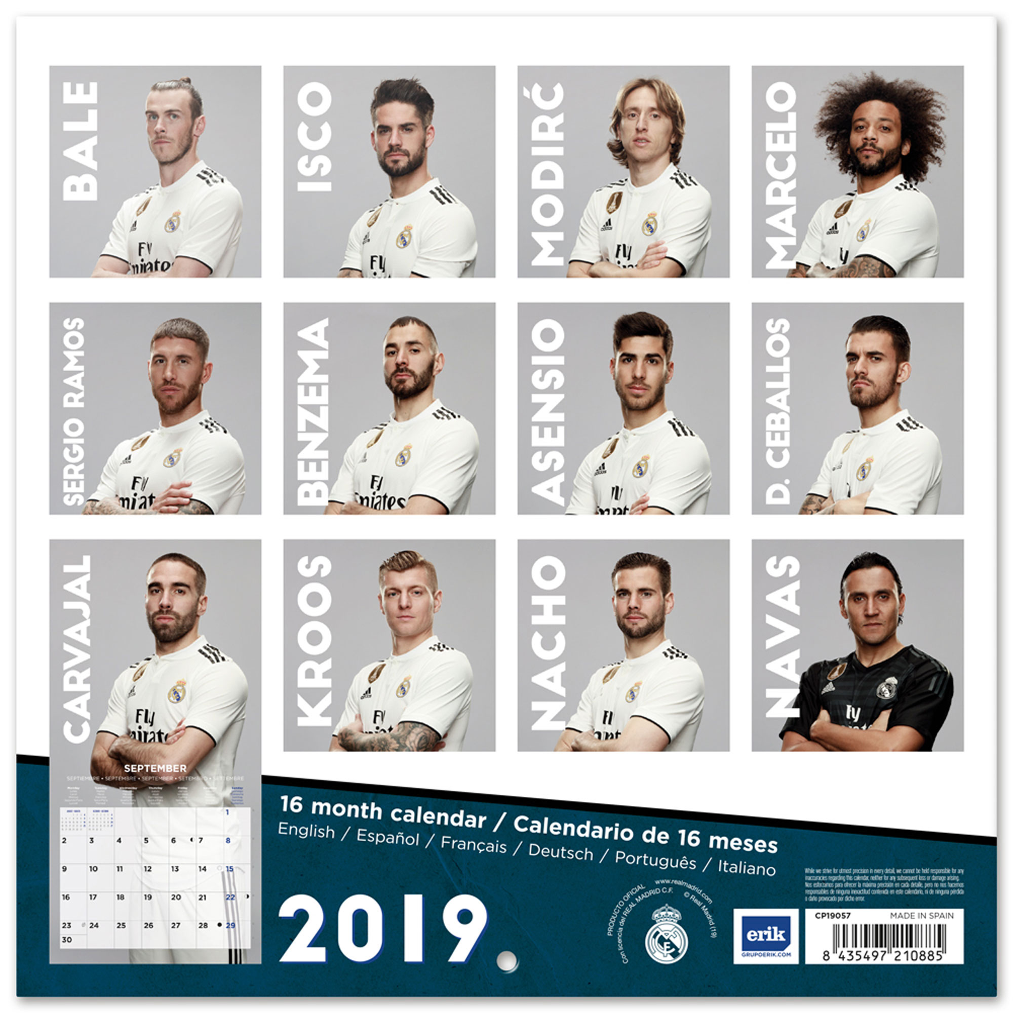 Kalender Fußball