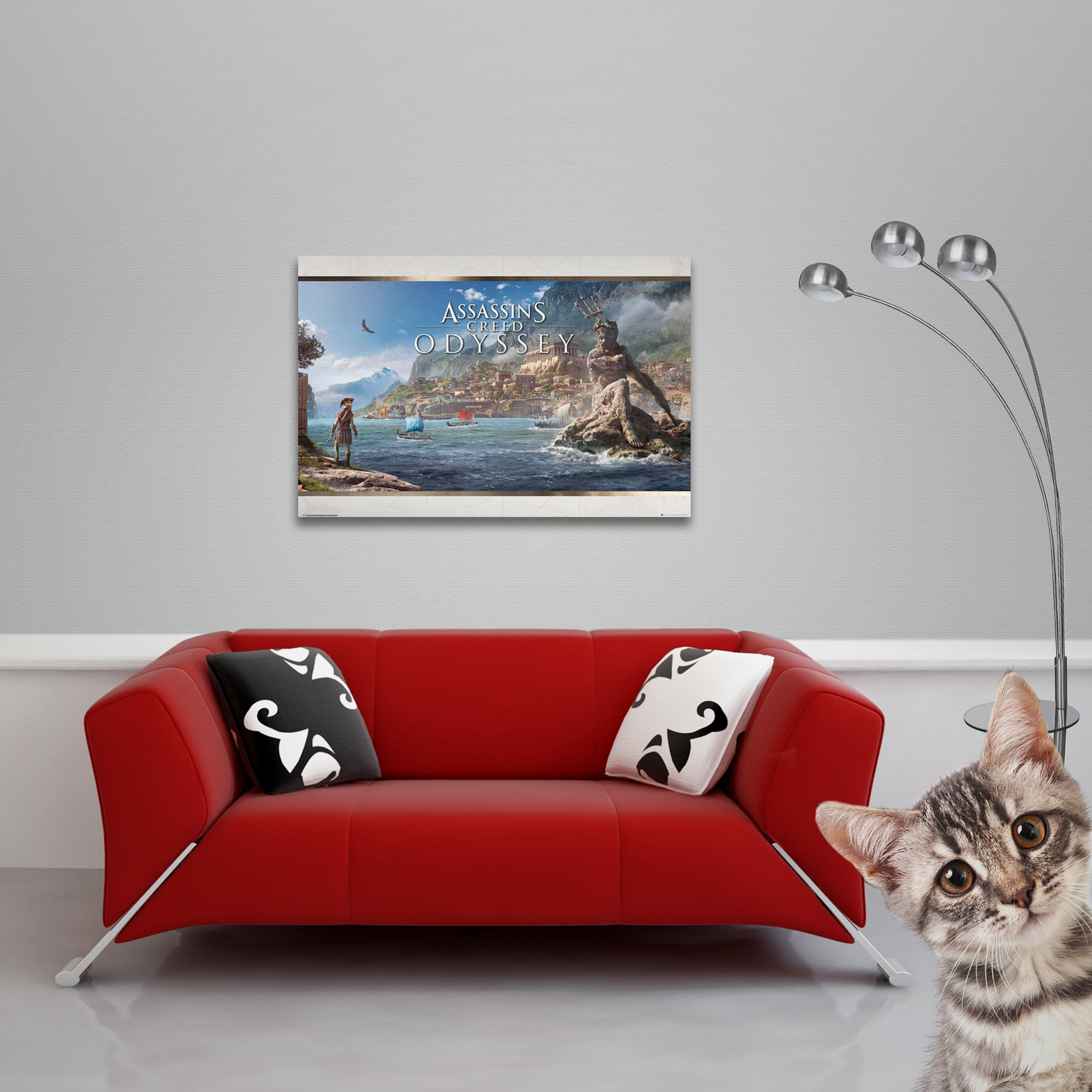 Assassins Creed - Poster - Odyssey - Vista Vorschau Sofa