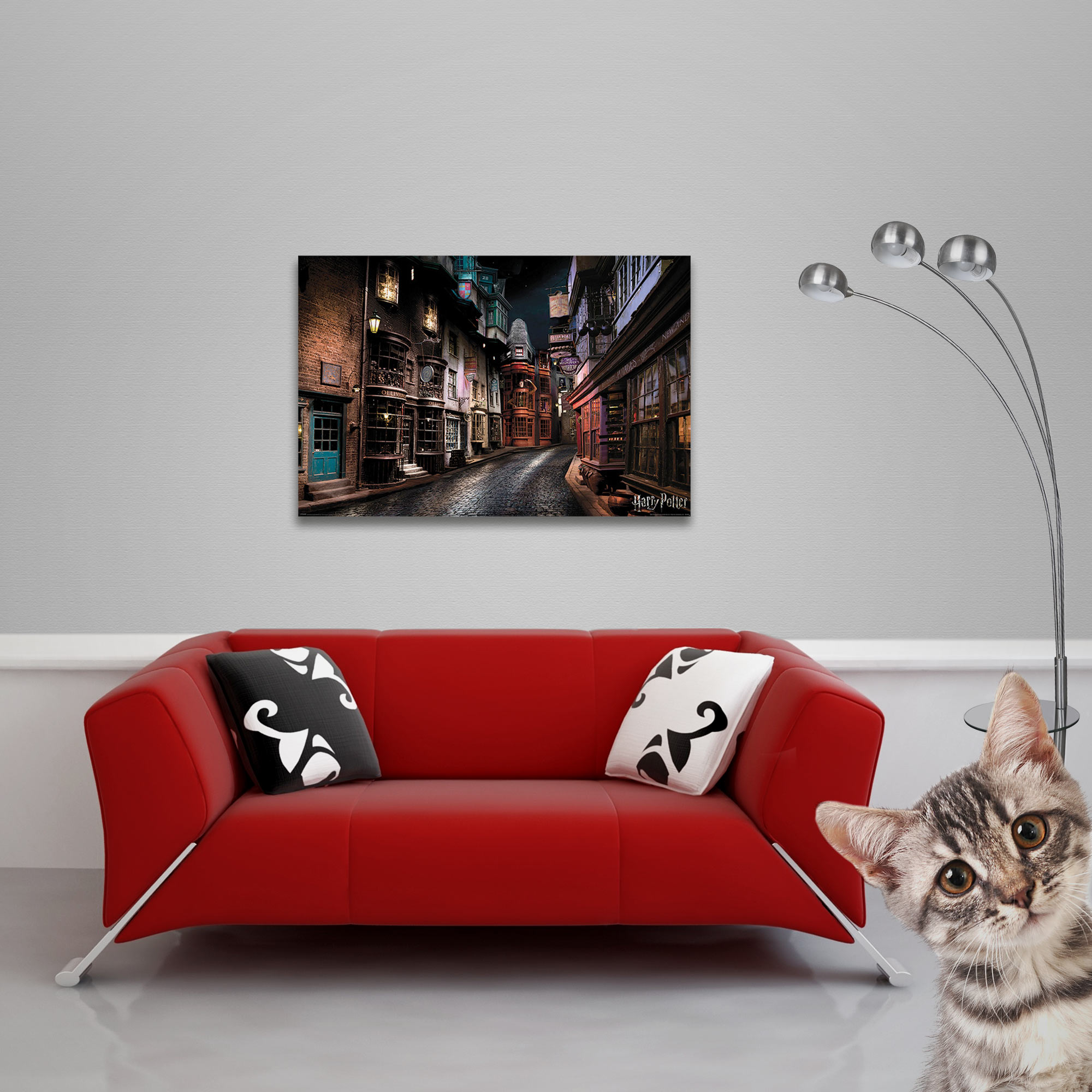 Harry Potter - Poster - Diagon Alley Vorschau Sofa